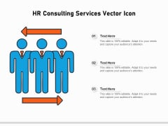 HR Consulting Services Vector Icon Ppt PowerPoint Presentation File Rules PDF