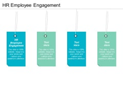 HR Employee Engagement Ppt PowerPoint Presentation Summary Design Ideas Cpb