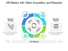 HR Metrics With Talent Acquisition And Rewards Ppt PowerPoint Presentation Layouts Show PDF