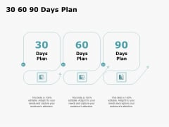 HR Outsourcing Service Proposal 30 60 90 Days Plan Ppt Layouts Slide PDF