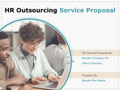 HR Outsourcing Service Proposal Ppt PowerPoint Presentation Complete Deck With Slides