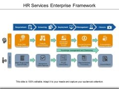 HR Services Enterprise Framework Ppt PowerPoint Presentation File Designs PDF