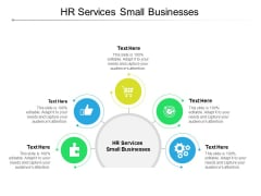 HR Services Small Businesses Ppt PowerPoint Presentation Outline Brochure Cpb