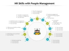 HR Skills With People Management Ppt PowerPoint Presentation Gallery Show PDF