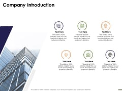HR Strategy Employee Journey Company Introduction Ppt Outline Background PDF