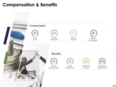 HR Strategy Employee Journey Compensation And Benefits Ppt Gallery Mockup PDF