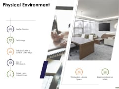 HR Strategy Employee Journey Physical Environment Ppt Inspiration Master Slide PDF