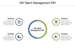 HR Talent Management KPI Ppt PowerPoint Presentation Styles Picture Cpb