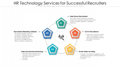 HR Technology Services For Successful Recruiters Ppt File Sample PDF