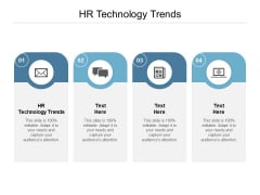 HR Technology Trends Ppt PowerPoint Presentation Professional Cpb