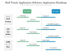 Half Yearly Application Software Application Roadmap Themes