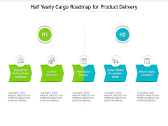 Half Yearly Cargo Roadmap For Product Delivery Microsoft