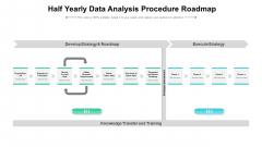 Half Yearly Data Analysis Procedure Roadmap Formats