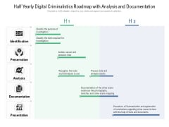 Half Yearly Digital Criminalistics Roadmap With Analysis And Documentation Microsoft