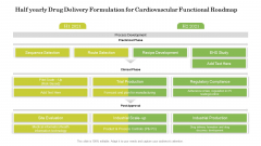 Half Yearly Drug Delivery Formulation For Cardiovascular Functional Roadmap Designs