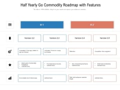 Half Yearly Go Commodity Roadmap With Features Sample