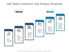 Half Yearly Investment Gap Analysis Roadmap Themes