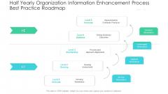 Half Yearly Organization Information Enhancement Process Best Practice Roadmap Download
