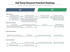 Half Yearly Research Flowchart Roadmap Information