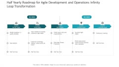 Half Yearly Roadmap For Agile Development And Operations Infinity Loop Transformation Download