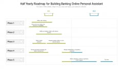 Half Yearly Roadmap For Building Banking Online Personal Assistant Topics