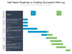 Half Yearly Roadmap To Creating Successful Web Log Themes
