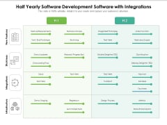 Half Yearly Scrum Software Development Software With Integrations Ideas