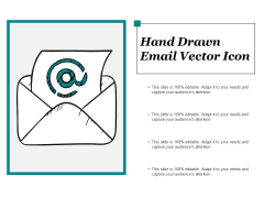 Hand Drawn Email Vector Icon Ppt PowerPoint Presentation Layouts Example