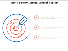 Hand Drawn Target Board Vector Ppt PowerPoint Presentation Professional Format