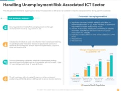 Handling Unemployment Risk Associated ICT Sector Mockup PDF