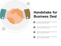 Handshake For Business Deal Ppt PowerPoint Presentation Outline Mockup
