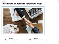 Handshake On Business Agreement Image Ppt PowerPoint Presentation File Examples PDF