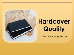 Hardcover Quality Tag Middle Book Quality Ppt PowerPoint Presentation Complete Deck