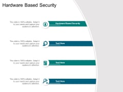 Hardware Based Security Ppt PowerPoint Presentation Pictures Grid Cpb Pdf