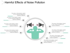 Harmful Effects Of Noise Pollution Ppt Powerpoint Presentation Gallery Deck