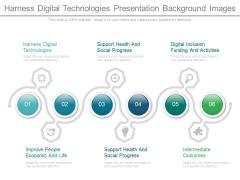 Harness Digital Technologies Presentation Background Images