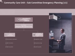Hazard Administration Community Care Unit Sub Committee Emergency Planning Inspiration PDF