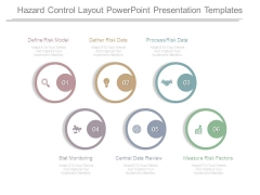 Hazard Control Layout Powerpoint Presentation Templates