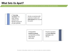 Health And Fitness Consultant What Sets Us Apart Microsoft PDF