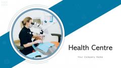 Health Centre Monitoring Machine Ppt PowerPoint Presentation Complete Deck With Slides