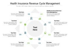 Health Insurance Revenue Cycle Management Ppt PowerPoint Presentation Inspiration Portrait Cpb Pdf