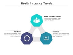 Health Insurance Trends Ppt PowerPoint Presentation Styles Icons Cpb Pdf