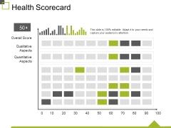 Health Scorecard Ppt PowerPoint Presentation Infographic Template Infographic Template