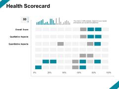 Health Scorecard Ppt PowerPoint Presentation Show Vector