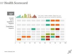 Health Scorecard Ppt PowerPoint Presentation Styles