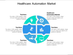 Healthcare Automation Market Ppt PowerPoint Presentation Model Vector Cpb