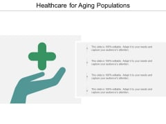 Healthcare For Aging Populations Ppt PowerPoint Presentation Inspiration Introduction