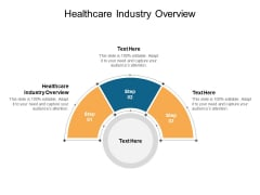 Healthcare Industry Overview Ppt PowerPoint Presentation Ideas Slide Download Cpb