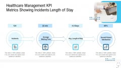 Healthcare Management Healthcare Management KPI Metrics Showing Incidents Length Of Stay Ppt Outline Slide Portrait PDF