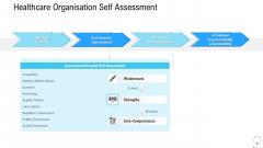 Healthcare Management Healthcare Organisation Self Assessment Ppt Pictures Designs PDF